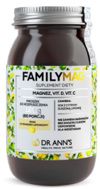 Dr Ann's FAMILYMAG magnesium without added sugar 120g